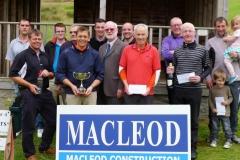 Donald Standaloft Open winner