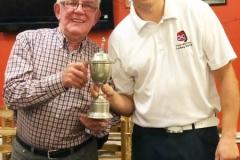 Donald Standaloft 2018 winner with Alex Gibson sponsor