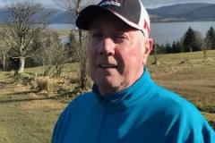 July 18 Medal winner Alan Stewart