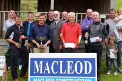 Donald Standaloft Open winner